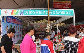 河北石家庄漂亮兔食品有限公司参加2015年漯河食品博览会