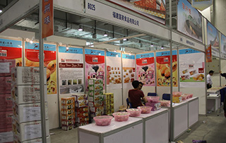 福建国美食品有限公司参展2015第九届食品博览会