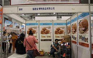 福建省嘟呦食品有限公司参展2015第九届食品博览会