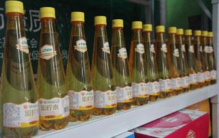 北京金月饮品蜜柠水亮相2015第二届徐州糖酒会