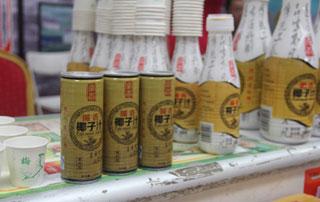 海南循香椰子汁在2015年徐州糖酒会上招商