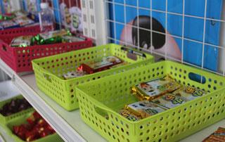 山东亿人优质产品在2015年徐州糖酒会上招商