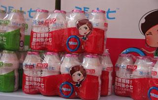 上海沁爽张小七乳酸菌饮品参加2015徐州糖酒会