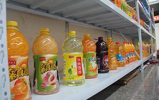 汇清庄园大桶果汁饮料产品陈列