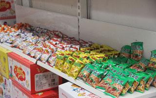 新乡市瑞丰食品有限公司产品在2015徐州糖酒会上受欢迎