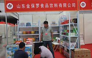 金保罗食品饮料公司亮相2015徐州春季糖酒会