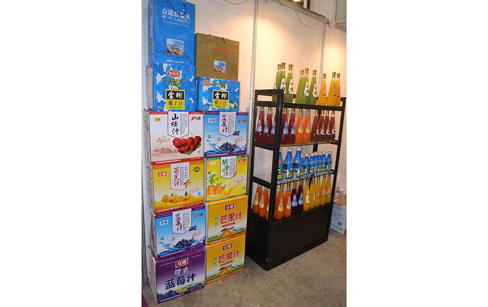 红景天食品2015长沙糖酒会产品展示