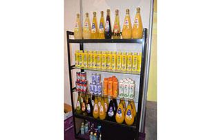 鸿润饮品2015长沙糖酒会产品展示