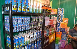 广州战豹食品参展2015长沙糖酒会