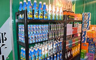 广州战豹食品2015长沙糖酒会产品陈列