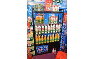 椰牛生榨椰子汁2015长沙糖酒会产品货架