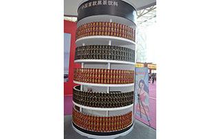 鑫亚达公司2015长沙糖酒会产品货架