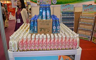 中粮食品在长沙糖酒会展示公司产品