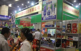 山东聊城民欢食品乳饮料、植物蛋白饮料在第十六届郑州糖酒会上招商