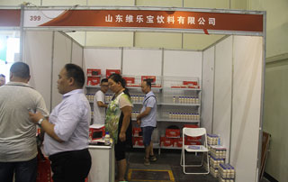 山东维乐宝饮料在第十六届郑州糖酒会上招商