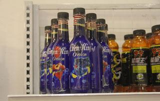 华晨食品鸡尾酒在2015年秋季郑州糖酒会现场招商