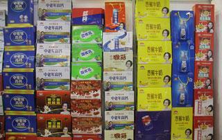 商丘一统山河产品在2015第十六届郑州秋季糖酒会现场受欢迎