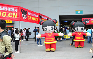 2016安徽国际糖酒会好妞妞食品网点亮全场