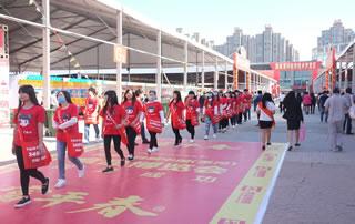 好妞妞招商网在第十四届中国(漯河)食品博览会不懈努力