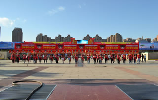 漯河食博会圆满成功,好妞妞食品网宣传仍是一大亮点