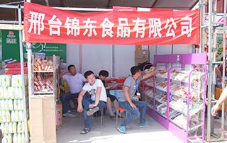锦东食品有限公司在2016漯河食博会上的展位