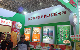 豫香果果食品有限公司亮相2016漯河食品会
