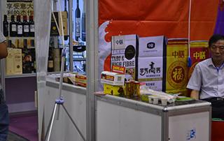 2016郑州秋季食品会上好妞妞名片盒受到客户的喜爱和好评