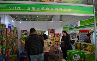 山东尚美食品有限公司惊艳第十一届山东糖酒会