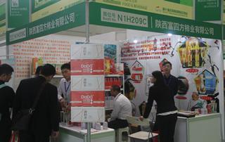 陕西富四方柿业有限公司在重庆糖酒会上大受欢迎!