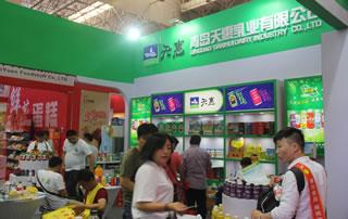 青岛天惠乳业有限公司亮相2017漯河食品节