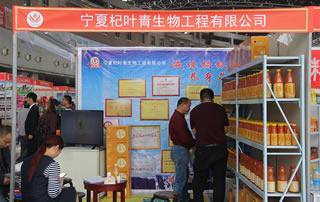 宁夏杞叶青生物工程有限公司亮相徐州糖酒会