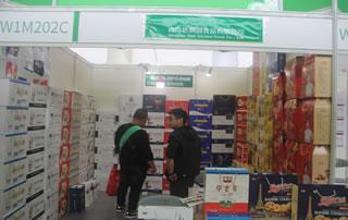 青岛达利园食品有限公司在2018长沙糖酒商品交易会格外吸睛!