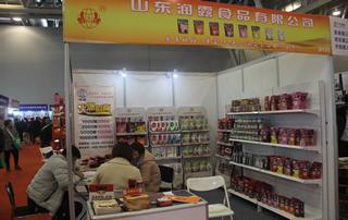 山东润露食品有限公司在2018第17届安徽国际糖酒会格外吸睛!