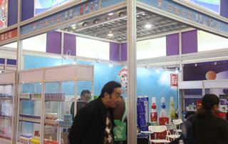 白象牛奶在第17届安徽国际糖酒会上展位掠影!