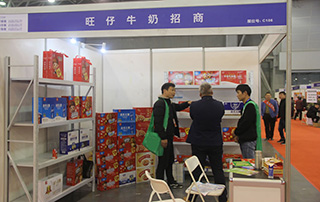 旺仔牛奶招商在2018第17届安徽国际糖酒会格外吸睛!