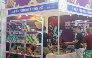 内蒙古四子王旗景欣农业有限公司在2018第四届中国(南京)国际糖酒食品交易会展位惊鸿一瞥!