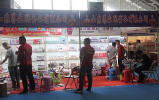 山东养生冠食品有限公司在2018第四届中国(南京)国际糖酒食品交易会展位惊鸿一瞥!