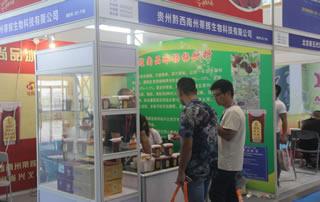 贵州黔西南州蒂辉生物科技2018第四届中国(南京)糖酒会大放异彩!