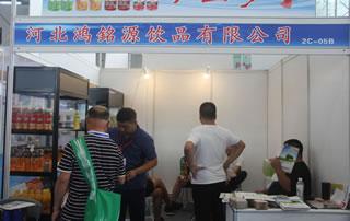 河北鸿铭源饮品有限公司在2018第四届中国(南京)国际糖酒食品交易会上格外吸睛!