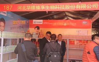 第81届山东糖酒会河北华维植享生物科技股份有限公司宣传展位