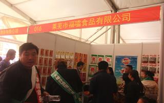 第81届山东糖酒会莱芜市福嗑食品有限公司宣传展位