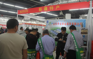 新疆特产参加2019年春季(第81届)山东省糖酒商品交易会