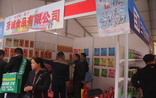 顶城食品有限公司参加第23届郑州糖酒会