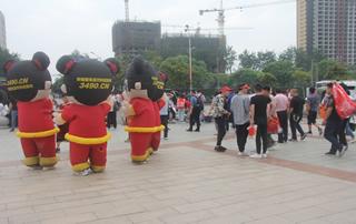 2019漯河糖酒会好妞妞宣传从未止步