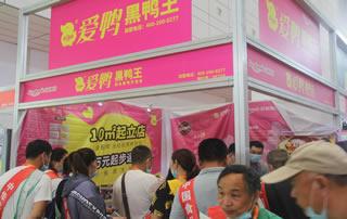 爱鸭黑鸭王参加2020第十四届全国食品博览会