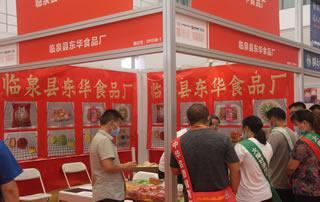 临泉县东华食品厂参加2020第十四届全国食品博览会