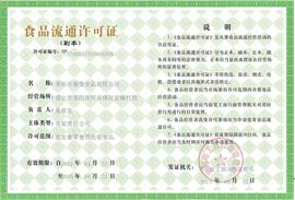 莱阳市蔡春食品有限公司-食品流通许可证