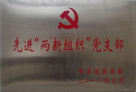 """沧州金利源饮料有限公司-先进""""两新组织""""党支部"""