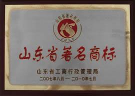山东省著名商标2