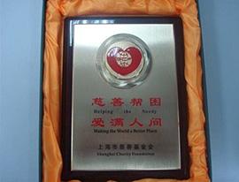 """光明乳业""""2009年上海慈善基金会"""""""